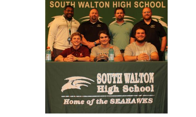 SWHS Seniors Sign on National Signing Day
